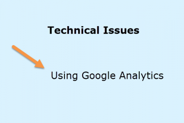 Technical Issues Using Google Analytics