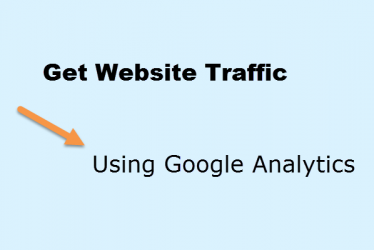 Get Website Traffic Using Google Analytics