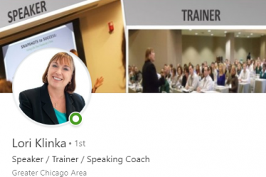 Lori Klinka, Public Speaking Coach & Trainer